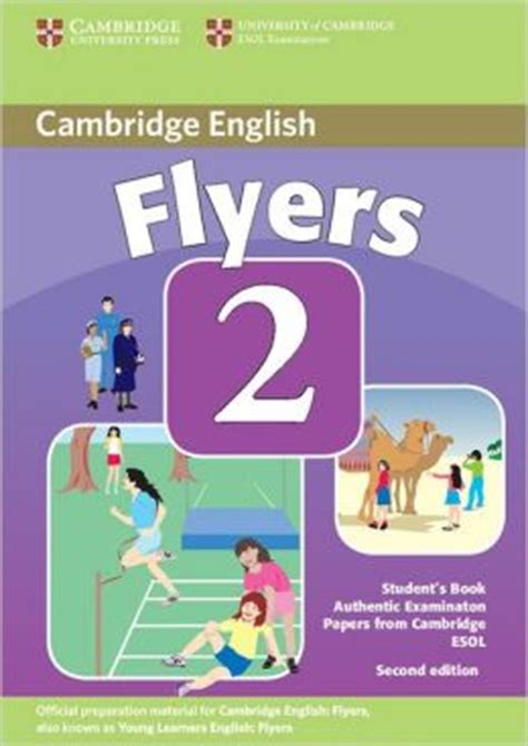 libro cambridge english flyers 1 cambridge young learners english tests flyers 2 student s book examination papers from the