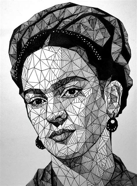 imagenes en blanco y negro de frida kahlo frida kahlo by lazzzyv on deviantart