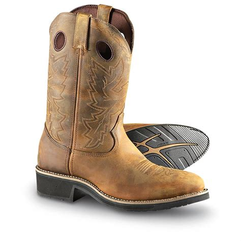 mens durango boots s durango boot 174 steel toe farm n ranch pull on