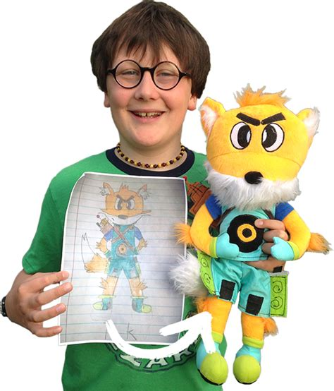 doll artwork crayola imaginables turn drawings into real stuffed