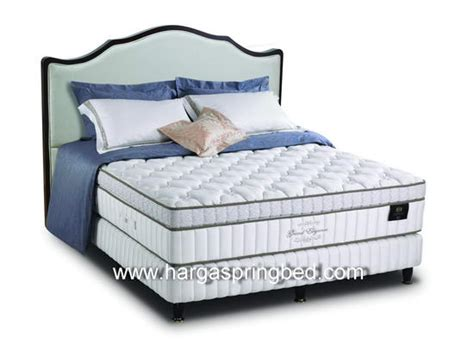 Kasur Bed Merk Quantum grand elegance 35cm firm toko kasur bed murah simpati furniture