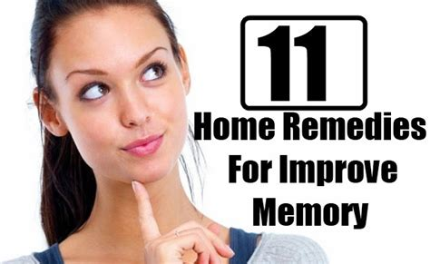 11 home remedies for improve memory diy home remedies