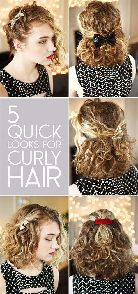 ways to wear short curly hair women fashion and hair style 10 easy ways to get awesome