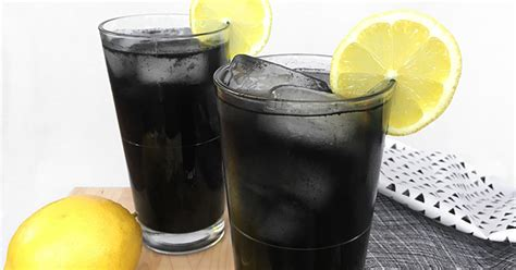 Carbon In Drinks Detox by Charcoal Lemonade Recipe A Powerful Cleansing Drink