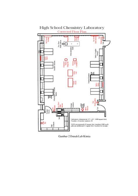 contoh layout laboratorium cara menata alat dan bahan di laboratorium kimia