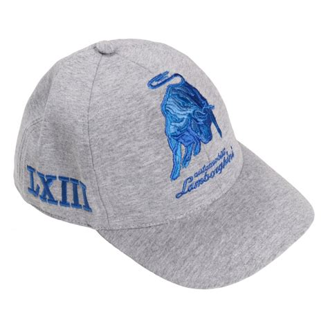 lamborghini hats automobili lamborghini boys embroidered cap by lamborghini