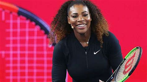Williams Looks Wow by Serena Williams Makes Post Baby Appearance And