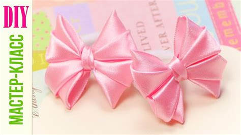 natali doma tutorial милые бантики из лент своими руками diy cute hair bow