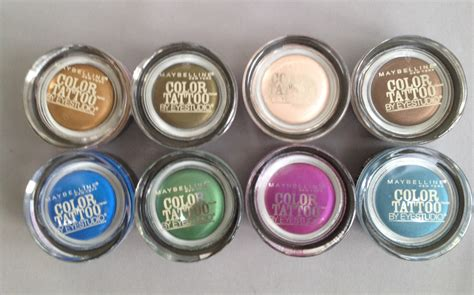 color tattoo maybelline indonesia maybelline color tattoo daily beauty dish