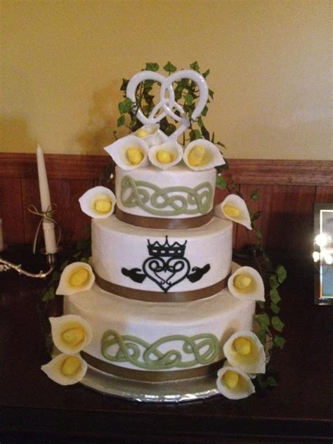 17 best images about celtic wedding cakes i