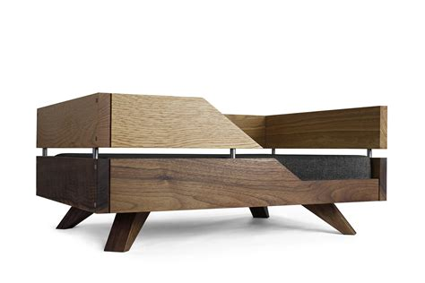 contemporary wooden beds handmade from solid oak