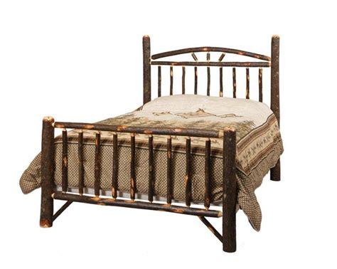 hickory chair bedroom furniture amish rustic cabin hickory wagon wheel bed