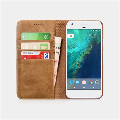 Pixel Xl Leather Textured Standing With Card Slot pixel xl genuine leather folio