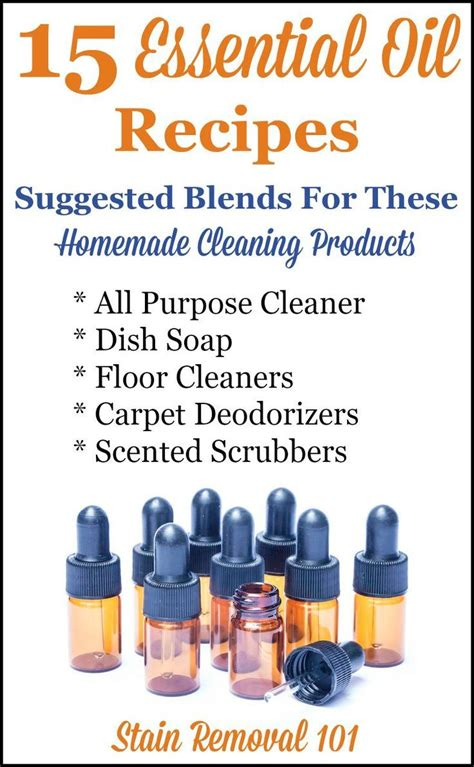 7 Recipes For Cleaners by 17 Best Images About Essential Oils On
