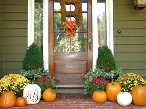 Terrific Fall Front Door Decorations Fall Front Door