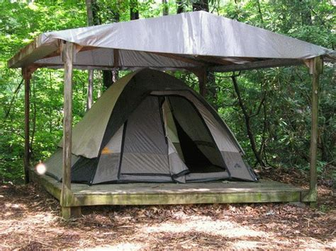 building a tent platform tent platform 5 house guest add room pinterest