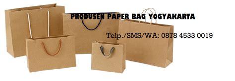 produsen tas kertas murah grosir paper bag tas spunbond
