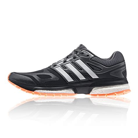 adidas response boost techfit womens grey sneakers