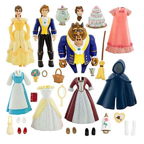 belle fashion shop at alamanda putrajaya your wdw store disney figurine set deluxe belle