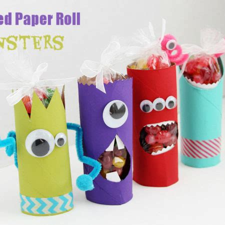 Toilet Paper Roll Challenge by Spring Crafts Spring Decorating Ideas