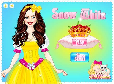 snow white games for girls girl games snow white dress up game