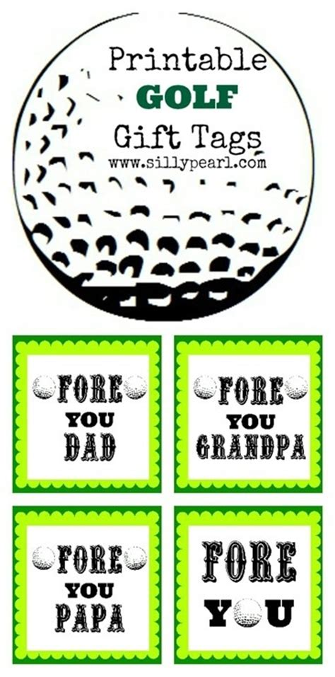 golf gift card template 51 best images about s day on print