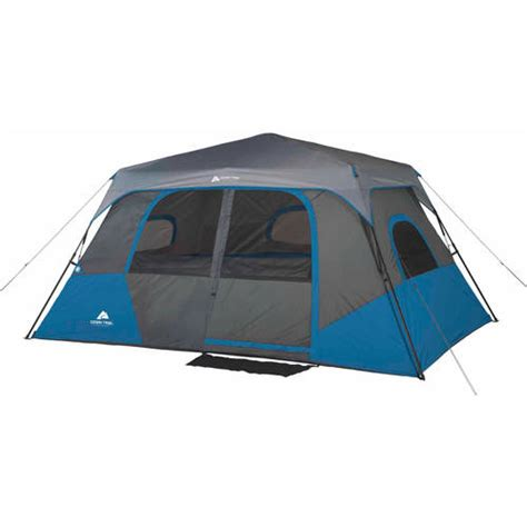 Ozark Trail Cabin Tent by Ozark Trail 8 Person 2 Room Instant Cabin Tent Walmart