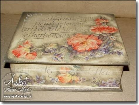 Asket Decoupage - decoupage box made by asket lovely decoupage