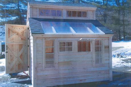 8 x 10 greenhouse from casco bay home improvements