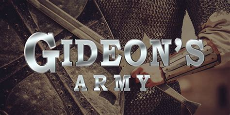gideons army sign up for ifi s gideon s army