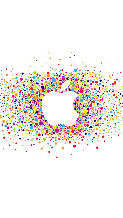 apple wallpaper confetti 20 cool wallpapers backgrounds for iphone 6 se in hd