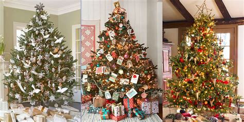 somple kids themd christmas trees in muti colors 30 decorated tree ideas pictures of tree inspiration