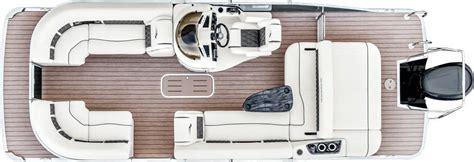 pontoon boat floor plans 2017 g22 swingback pontoon boats by bennington