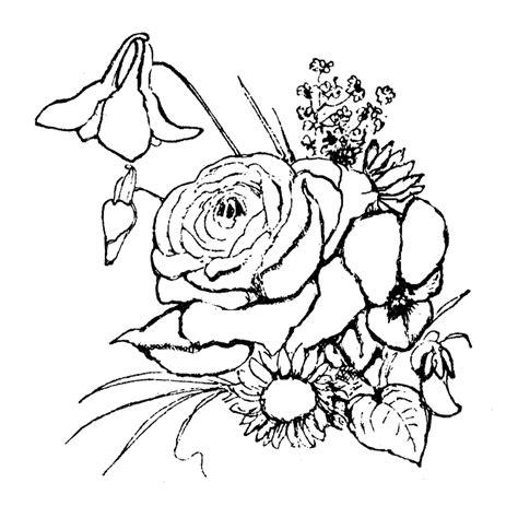 imagenes de flores bonitas para colorear dibujos de flores bonitas para colorear