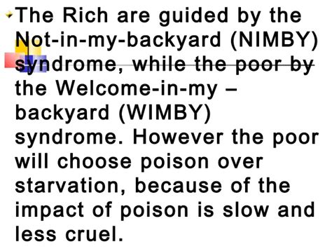 not in my backyard syndrome not in my backyard syndrome 28 images nimby taxes for
