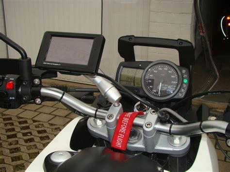 Motorrad Batterie Zieht Sich Zusammen by Navi An Der G650gs Zubeh 246 R Umbauten F650 Forum