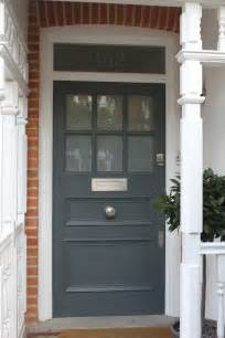 pictures of front doors 1930s front door in west london with plain sandblasted glass
