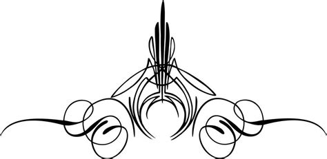 Auto Decals Pinstriping by Custom Graphic Center Scroll Pinstriping Decal 12 Pair 2