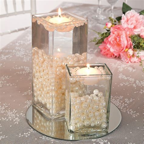 easy pearl bead centerpiece idea simple and