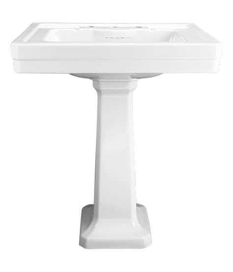 20 inch pedestal sink the fixture gallery dxv fitzgerald 28 inch pedestal