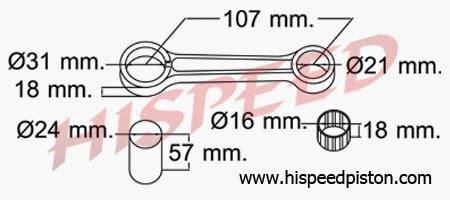 Stang Seher Stang Seker Stang Piston Conrod Rxs daftar connecting rod stang seher motor yamaha seputar
