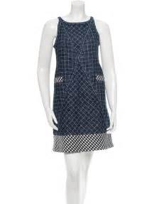 chanel tweed dress clothing cha68310 the realreal