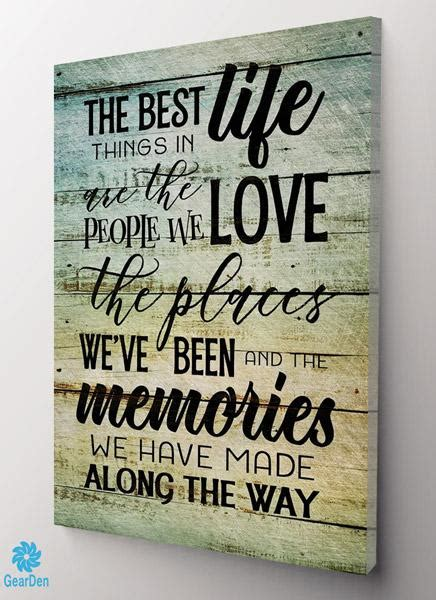 canvas wall art     life people places