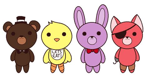 imagenes kawaii de five nights at freddy s fnaf favourites by hammy white on deviantart