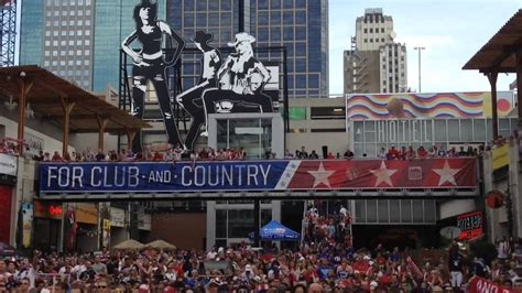 power and light district bars cup soccer fans cheer team usa in power