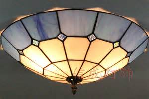 stained glass ceiling lights 12 16 inch stained glass ceiling lights blue and