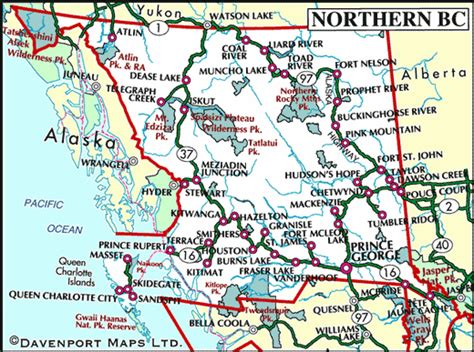 map of canada bc map of columbia and alberta canada free