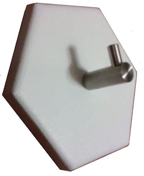modern wall hook 1 hook hex stainless steel coat rack modern wall hooks