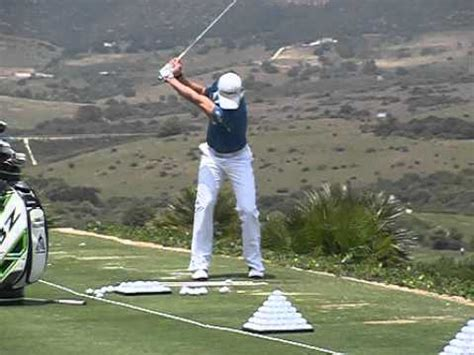 iron swing slow motion camilo villegas golf swing iron slow motion volvo world