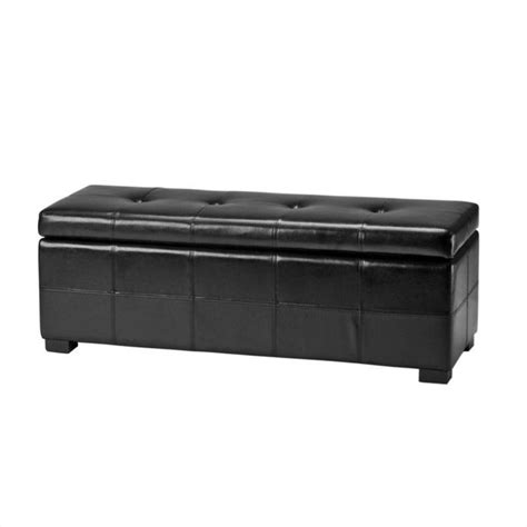 tufted leather storage bench safavieh large maiden tufted leather storage bench in